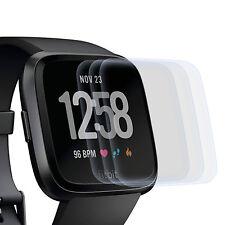 3x Display Schutz Folie für Fitbit Versa - Displayfolie Schutz Hülle Cover Klar