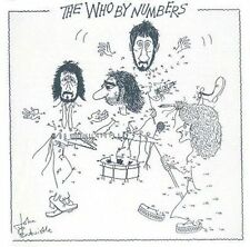 The Who by Numbers [Remaster] by The Who (CD, Nov-1996, MCA)