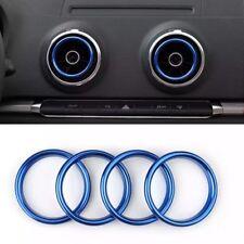Lüftungsringe Audi A3 S3 Q2 Lüftungsdüsen Zierringe Ringe Blau Sportback Blenden