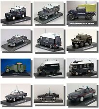 New, Carabinieri, Collection, Police, Military, 1:43 Model cars