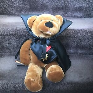 NWT CHANTILLY LANE MUSICAL MOVING PLUSH BEAR 18 IN. COUNT THEODORE MONSTER MASH