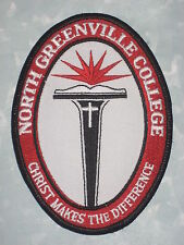 """North Greenville College Patch - Christ Makes the Difference 3 1/2"""" x 4 3/4"""""""