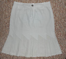 Women 100% Cotton A/X Armani  Work Casual Skirt Size 4