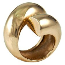 14k Modernist Dome Gold Ring