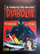 DIABOLIK PRIMA SERIE n° 7 - RISTAMPA 1964 - RARO!!!
