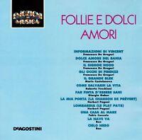 EMOZIONI IN MUSICA IT 9145/46 FOLLIE E DOLCI AMORI De Gregori,Ron,Pagani,Gaber