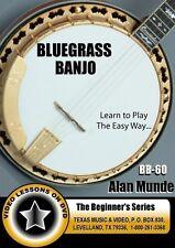 Bluegrass  Banjo Workshop Volume 1 INSTRUCTIONAL  DVD (AAM-90)