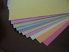 50 sheets in 10 pastel colours of  A4 sugar paper