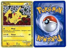 PROMO POKEMON PW (English Version) PIKACHU HOLO POLISH POLONAIS