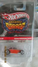 Hot Wheels Treasure Hunt Custom VW Beetle With Initials/Larry's Garage Set/Chase