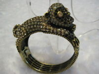 "HEIDI DAUS ""No Monkey Business"" Size M/L Bangle Bracelet (Orig.$229.95)-RARE!!!"