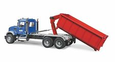 WORLDS LARGEST MACK GARBAGE ROLL OFF CONTAINER TRUCK 2 FEET LONG NEW IN BOX