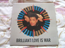 "Brilliant, Love Is War, dble 12"", Gatefold Sleeve"