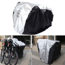 Bikes Bicycle Cover Out/Indoor Water Sun Dust proof Cover for 3 Bicycle Scooter