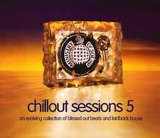 """MINISTRY OF SOUND """"THE CHILLOUT SESSIONS 5"""" (2004) - 2 x CD - OUT OF PRINT!!!"""
