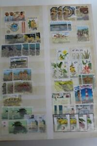 COMMONWEALTH Stamp Collection on Stockpages KGVI onwards Lots of Thematics