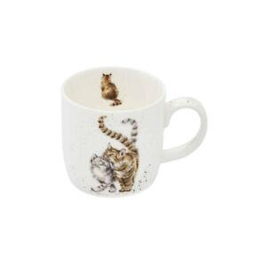 Wrendale Designs Mug Feline Good Kitten 310ml Fine Bone China Royal Worcester