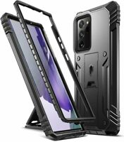 Poetic For Galaxy Note 20 Ultra Kickstand Case,Dual Layer Shockproof Cover