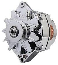 Powermaster 17127 65 amp 1 Wire Chrome GM Alternator NEW Int. Regulator