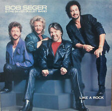 "Vinyle 33T Bob Seger & the Silver Bullet Band  ""Like a rock"""