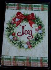 Trimming Traditions 18ct Christmas Cards with Envelopes - Joyous Wreath - New