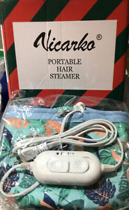 VICARKO Hair Steamer Thermal Heat Cap Deep Conditioning Natural Black Hair Scalp