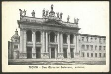 Italy. Roma. Rome. 4 Old Postcards with Views of Rome's Buildings