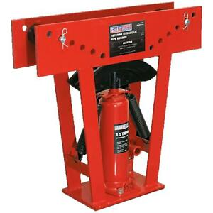 Sealey 16 Tonne Hydraulic Floor Stand Pipe Bender For Bending Air & Gas Pipes
