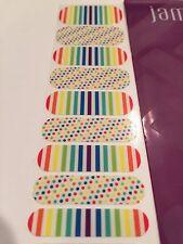 Jamberry Nail Wraps 1/2 Sheet - Clowning Around