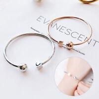 Bracelet Bangle Jonc Or Argent Femme tendance Chic Bracelet Cuff Wristband Neuf