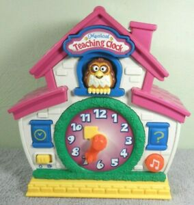 Musical Teaching Clock - Talks, Songs, Questions, Lights - Learn Telling Time