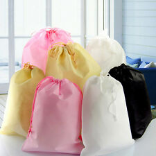 Shoes Bag Travel Storage Pouch Drawstring Dust Bag Non-woven Party Gifts 4 LJ