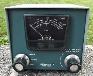 Lot 11: Heathkit HM-102 HAM Radio SWR Meter