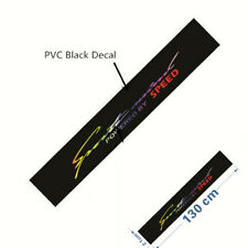 1Pcs Reflective Letter Windshield Banner Strip Racing Sticker Front Rear Window