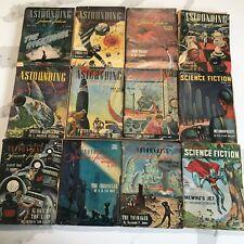Astounding Science Fiction 1946 12 Issues Full Run Pulp EC L Ron Hubbard Comic