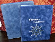 32x Brief Schweizer Schiffspost Schweiz Ringbinder Album Sammlung 1997 - 2000