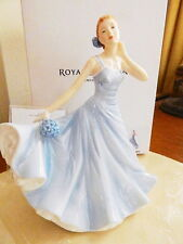 Royal Doulton Flower of the Month OCTOBER HYDRANGEA Figurine Petite - NEW / BOX!