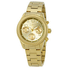 Invicta Angel Chronograph Champagne Dial Yellow Gold-plated Ladies Watch 20266
