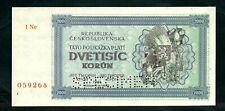 More details for czechoslovakia (p50as) 2,000 korun 1945 specimen aunc