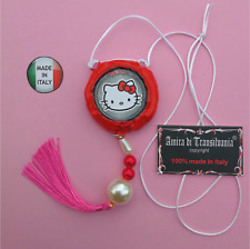 idea regalo da bambina bimba talismano amuleto portafortuna hello kitty