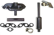 Manifold Kit For Ih Farmall Super Mv Mta Mdv Tractor Stainless Steel Muffler