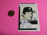 Jim Kaat (Debut 1959 ) WAS STL WSX MIN NYY  SIGNED AUTOGRAPH AUTO Photograph