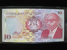 New listing Lesotho 10 Maloti 1990 Africa Kingdom 557# World Currency Banknote Paper Money
