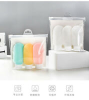 Portable Travel Set Reusable Silicone Bottles Shampoo  Shower Gel Lotion Bottle