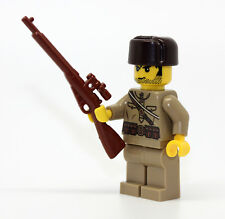 World War 2 Russian Sniper Mosin WW2 Minifigure made with real LEGO(R) part
