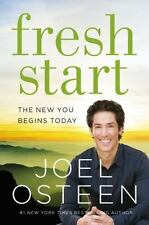 Fresh Start New You Begins Today Joel Osteen (2015, Hardcover) Christian Book