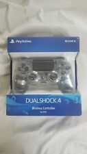Sony DualShock 4 Wireless Controller - for PlayStation 4 - Crystal
