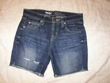Mossimo Distressed Denim Shorts - Size 2 - Boyfriend Short
