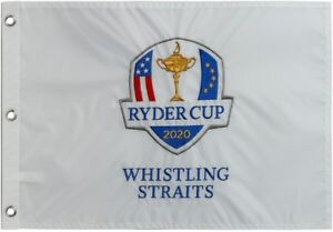 2020/2021 RYDER CUP (WHISTLING STRAITS) EMBROIDERED Golf FLAG