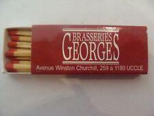 Boite allumettes - Brasseries GEORGES - 259  Av. W. Churchill - UCCLE - (B11)